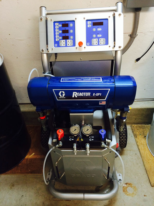Graco E XP1 Heated High Pressure Machine